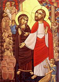 an analysis of the wedding at cana in the gospel of john The gospel according to john  chapter 2 1 on the third day there was a wedding in cana in galilee, and the mother of jesus was there 2.